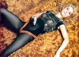 Jane Fonda in one of our Top 10 Sexy Movies, Barbarella