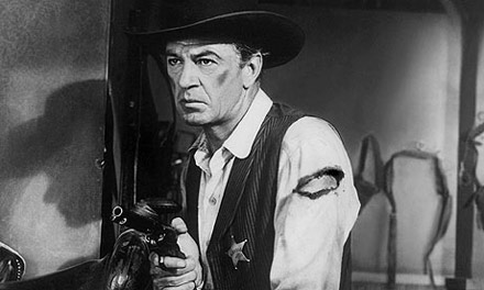 In High Noon, a small town sheriff named Will Kane (Gary Cooper) must face an old enemy completely alone