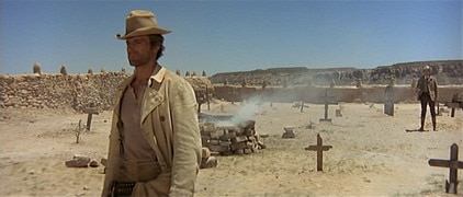"Terence Hill in ""My Name is Nobody,"" probably the best Spaghetti Western Comedy ever made"