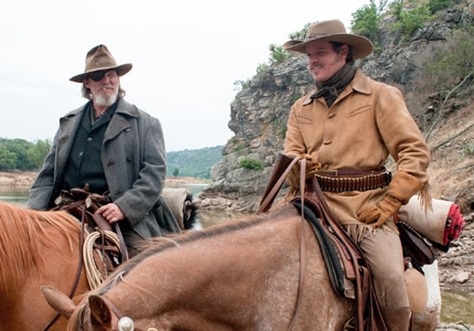 Jeff Bridges and Matt Damon star in the 2010 remake of True Grit