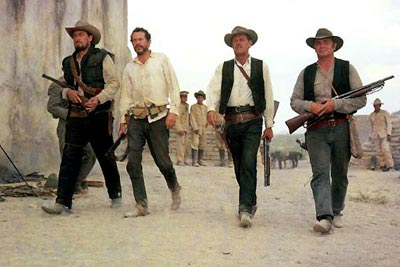 "In the Wild Bunch, an aging group of outlaws searches for their last big ""score"" before they retire for good"