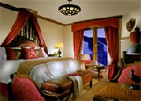 A guest room at The Arrabelle at Vail Square
