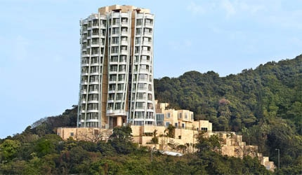 Designed by architect Frank Gehry, Swire Properties' OPUS HONG KONG is a spiralling tower comprised of twelve apartments