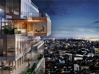 Artist's rendition of The Ritz-Carlton Residences, Bangkok