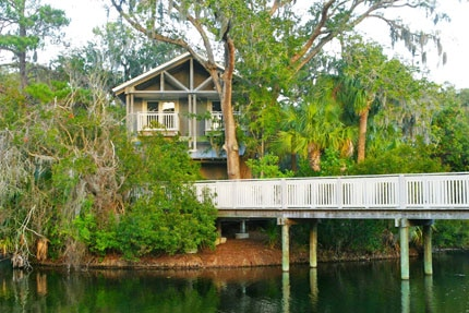 Spa Treehouse at Omni Amelia Island Plantation in Florida