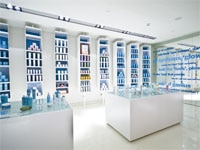 The retail boutique in Bliss Spa at W Barcelona