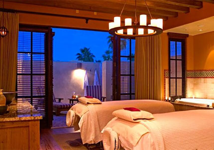 The Havasu room at Red Door Spa in Phoenix, which has earned a spot on our list of Top 10 Couples Massages
