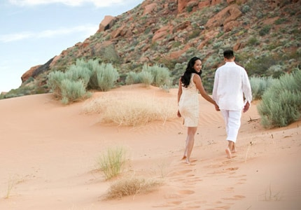 Red Mountain Resort in St. George, Utah offers one of GAYOT's Top 10 Couples Massages