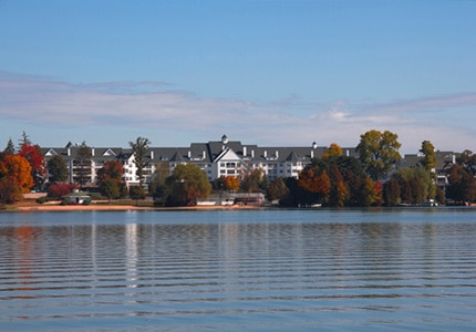 Aspira Spa is located at The Osthoff Resort on scenic Elkhart Lake