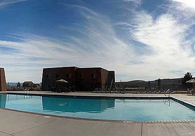 The pool at The Biggest Loser at Fitness Ridge in Utah