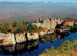 The stunning Mohonk Mountain House in New Paltz, NY is one of GAYOT's Top 10 Destination Spas in the U.S.