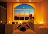 A massage at Kurotel Longevity Center & Spa in Brazil