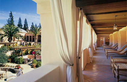 A view of the Spa Rotunda at The Fairmont Sonoma Mission Inn & Spa in Sonoma County California