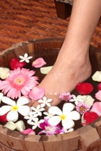 Check out our spa product reviews by category, including those for feet, as pictured here