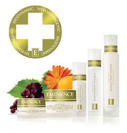 The Eminence Biodynamic Collection is all-natural, paraben-free and hypoallergenic