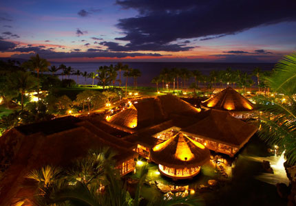 The view at the decadent Grand Wailea Resort & Spa, one of our Top 10 Romantic Spas
