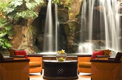The main lobby at the Heavenly Spa by Westin, The Westin Maui Resort & Spa