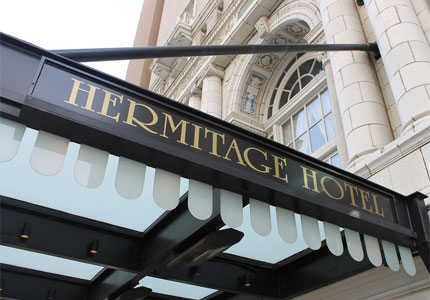 The Hermitage Hotel Nashville: a preeminent destination for discerning travelers since 1908