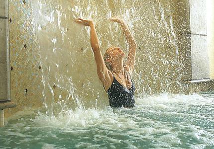 The Waterfall at Kohler Waters Spa in Kohler, Wisconsin