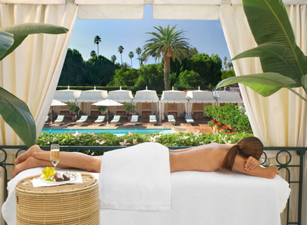Pamper yourself at The Beverly Hills Hotel Spa by La Prairie