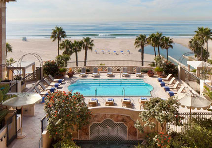 Casa Del Mar, a jewel by the beach in Santa Monica and one of GAYOT's Top 10 LA Spa Hotels