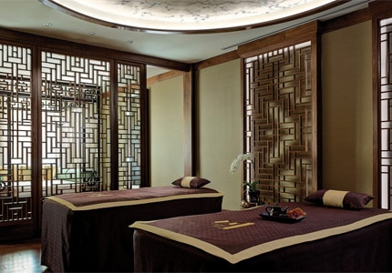 Unwind with a massage at Chuan Spa at The Langham Huntington, Pasadena