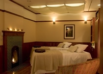 Parents can enjoy a couple's massage at The Spa at Mohonk Mountain House