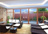 The Meditation Lounge at Crystal Spa