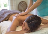 A massage at Linden Spa