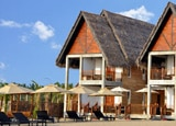 Guest chalets at Maalu Maalu Resort and Spa in Sri Lanka