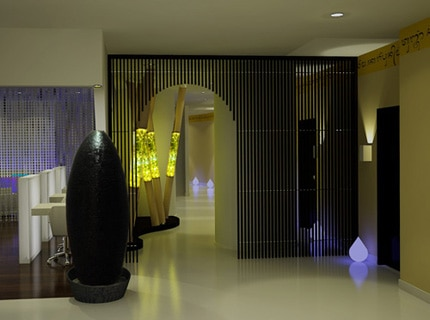 The interior design of Mandara Spa in London is inspired by Asian culture