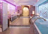Balneotherapy Room and Sensation Showers at The Parador de Santo Esteva