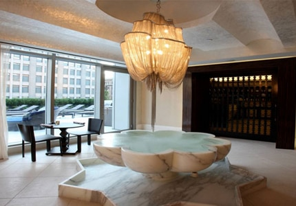 The Spa at Trump SoHo is included in our list of Top 10 Spas in NYC
