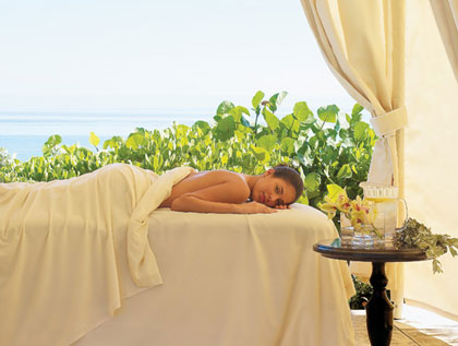 The luxe spa at One&Only Ocean Club in The Bahamas