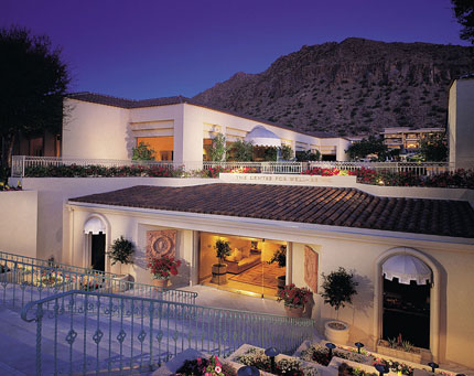 The Centre for Well-Being, a peaceful spa haven at The Phoenician, A Luxury Collection Resort in Scottsdale, AZ