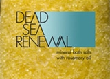 Dead Sea Renewal Bath Salts with Rosemary