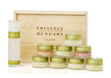 Eminence offers the Biodynamic Collection in a travel-friendly set
