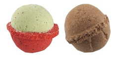 ME! Bath's Strawberry Kiwi and Choco-holic Scoops