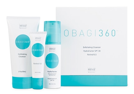 The Obagi360 Cleansing System is great for younger patients looking for clearer skin