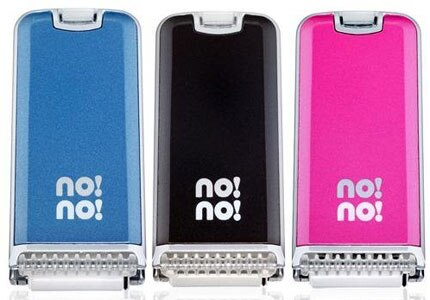 Get the no!no! Hair Removal System in different colors