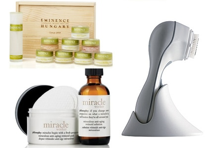 Find such brands as Philosophy, Eminence and Clarisonic among GAYOT's Top 10 Spa Gifts