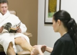 A pedicure at Red Mountain Spa's Sagestone Spa and Salon
