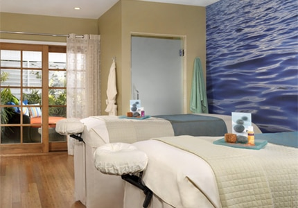 The Couple's Suite at Spa L'Auberge at L'Auberge Del Mar in Del Mar, California