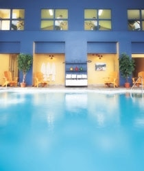 A pool at the Spa Eastman, where daily aqua-aerobics classes are held