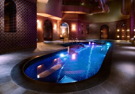 The pool at St. Pancras Spa in London, England