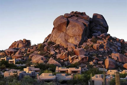 The stunning setting of The Boulders, A Waldorf Astoria Resort