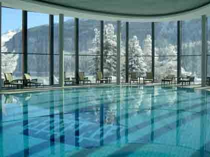 Palace Wellness at Badrutt's Palace Hotel in the Swiss Alps