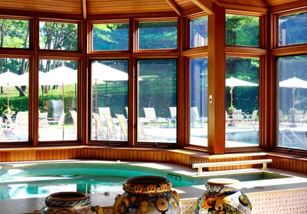 The Potting Shed Spa at Blantyre in Lenox, Massachusetts, one of our favorite romantic spas