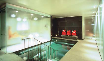 The Vitality Pool at the Mandarin Oriental Hyde Park London's Spa