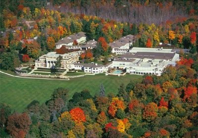 Enjoy the fall foliage at Canyon Ranch Lenox in Massachusetts